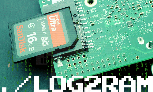 How to extend the lifespan of memory cards on the Raspberry Pi with Log2Ram