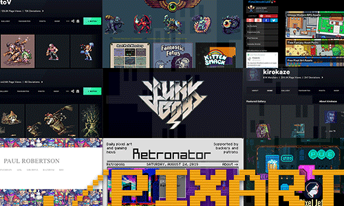 10 Influential Pixel Artists