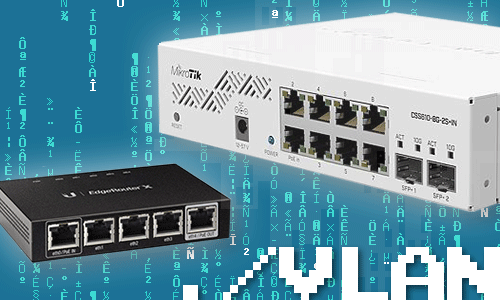 How to secure IOT devices with VLANs and firewall rules on an Ubiquiti EdgeRouter and a MikroTik switch running SwOS Lite