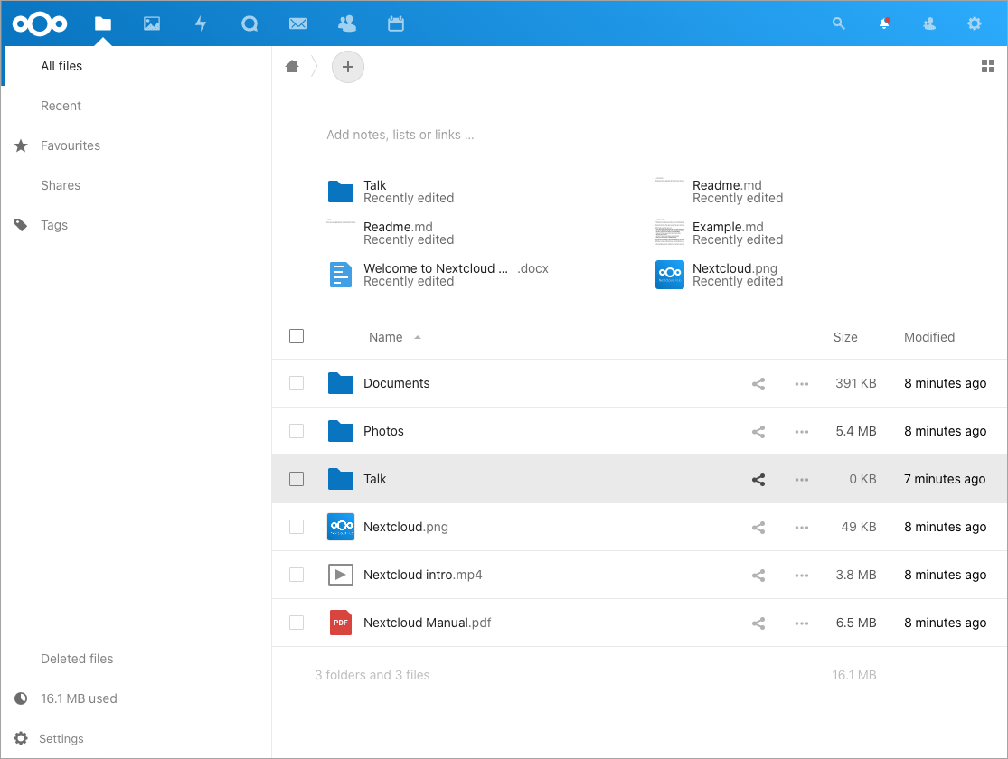 Nextcloud Docker Mac Image 14